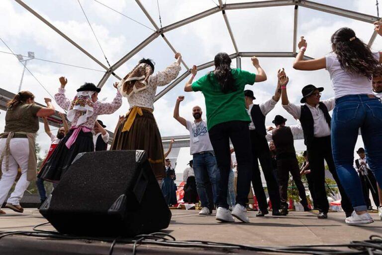 atuações folclore rancho folclorico Expobairrada oliveira do bairro