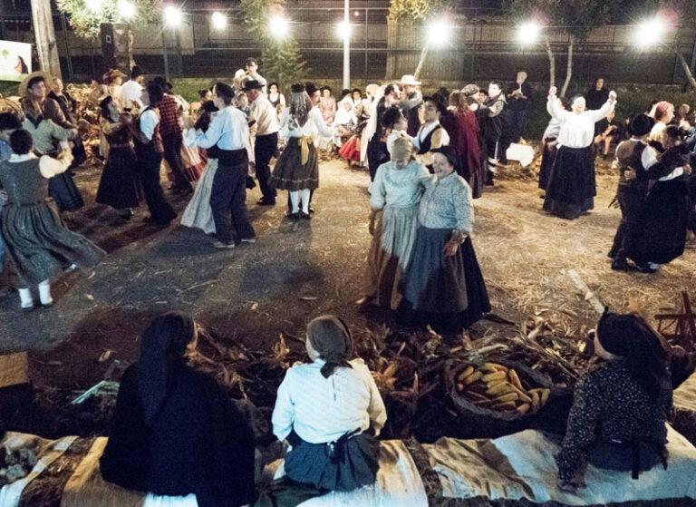 dança desfolhada milho